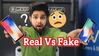 Real Vs Fake iPhone X | How to Spot A Fake iPhone