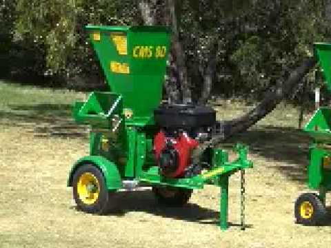 Red Roo: CMS 80 Chipper Mulcher Shredder