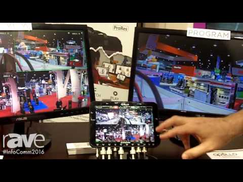 InfoComm 2016: Convergent Design Highlights Apollo Multicamera Recorder/Switcher