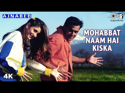 Mohabbat Naam Hai Kiska - Ajnabee - Kareena Kapoor & Bobby - Full Song