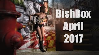 BishBox - April 2017 - Unboxing Video - Second Life Subscription Box