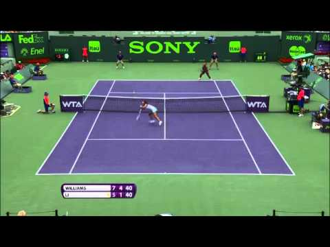 Sony Open Tennis WTA Hot shot of the day featuring Serena Williams