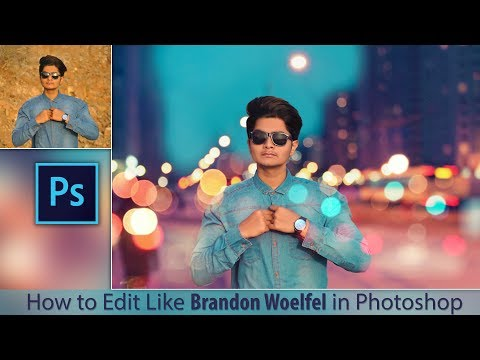 How to Edit Like Brandon Woelfel in Photoshop | Diwali Special Photo Editing in Photoshop cc
