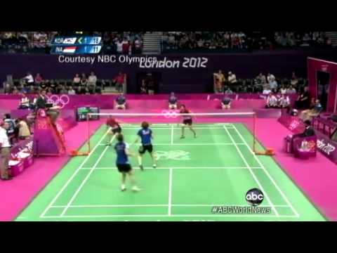 London 2012 Badminton: 8 Players Disqualified