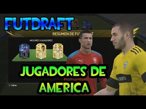FIFA 16 - Futdraft  Solo Jugadores de America - El Ronaldo Imparable y los Penalties Mas Falsos