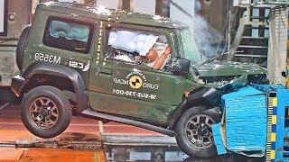 Suzuki Jimny (2019) Bad Result to Crash Test