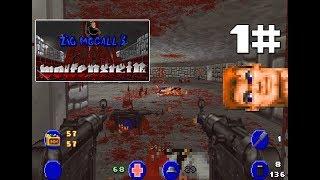 Brutal Wolfenstein v5.0 demo playthrough - Part 1 - Wolfenstein 3D goes Brutal Doom