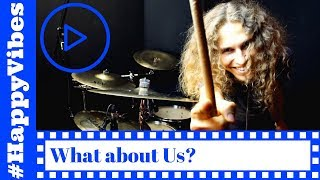 download musica What about Us - Drum Cover - Pnk - Charts meets Drums