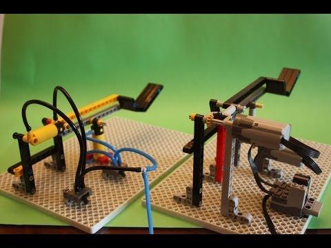 LEGO Pneumatics vs Linear Actuators: What is better?