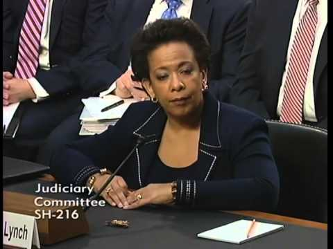 Sen. Ted Cruz Third Q&A with Attorney General Nominee Loretta Lynch