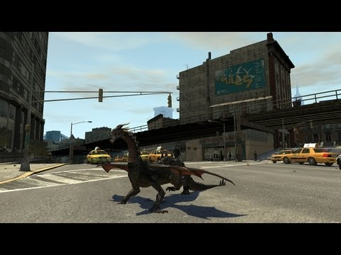 Grand Theft Auto IV - Dragon (MOD) HD