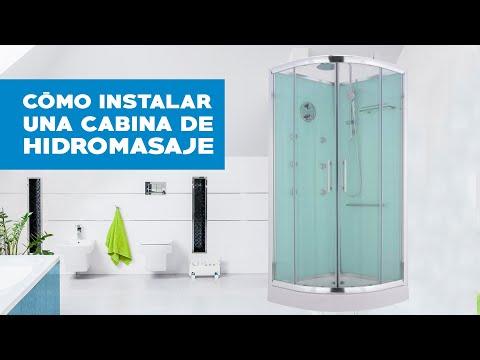 Cabina de ducha con hidromasaje 90X90X200 Sensi d