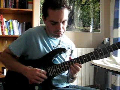 Joe Satriani - Summer Song. Cover by Santiago Paulet.