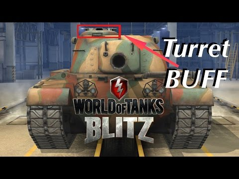 World of tanks blitz(3.1) // Buff_M48patton Gameplay (버프된 갓패튼)