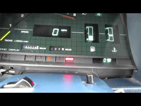 1982 Toyota Celica Supra Start up and walk around 5-speed Digital Dash