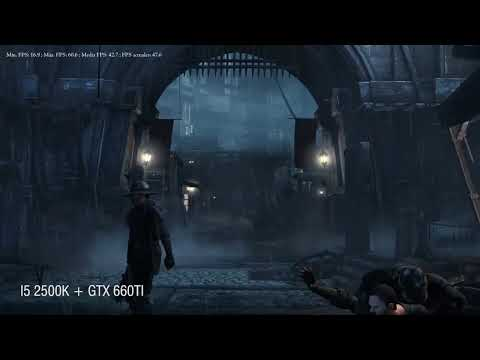 Thief Benchmark i5 2500K + GTX 660Ti