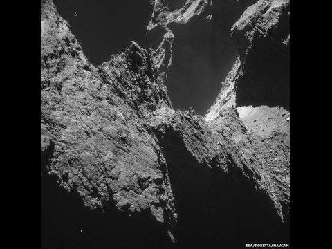 Sonido que capturó nave robotica Rosetta al acercarse a cometa 67PChuryumovGerasimenko