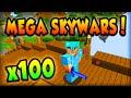 "download Minecraft MEGA SKYWARS - ""100 PLAYER MADNESS"" - Minecraft w/ Ali-A! #1"