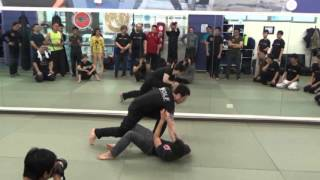 2016 Kyusho and Russian WOLF combat system seminar: Russian WOLF combat Part