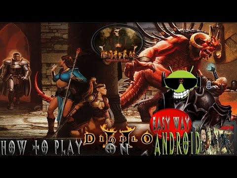 How to Play Diablo 2 on Android with Dosbox Turbo - YouTube