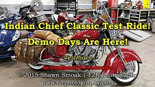 Indian Chief Vintage Test Ride! - Demo Days Are Here! | TestRides