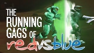 [SPOILERS] ALL of Red vs. Blue's Running Gags! (Seasons 1-13)