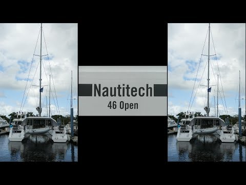 The 2018 Nautitech 46 Open Catamaran is a fast and light sailboat