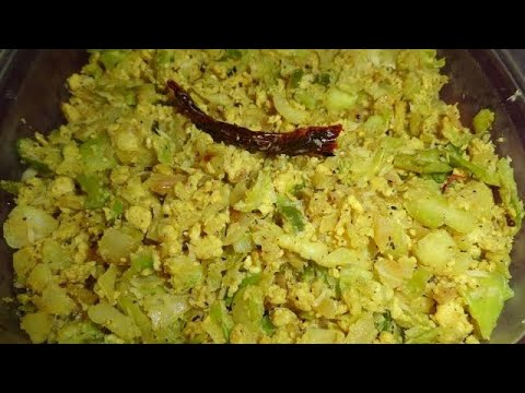 Cabbage egg curry