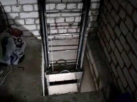 Лифт в гараже