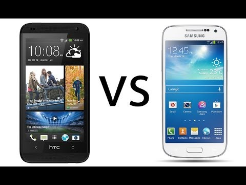 HTC Desire 601 vs Samsung Galaxy S4 Mini. comparativa