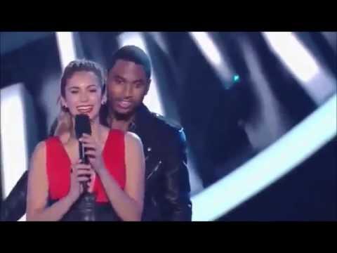 Nina Dobrev and Trey Songz Presenting At The 2014 MTV Video Music Awards