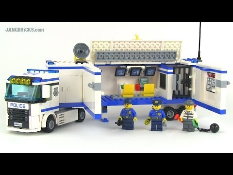 LEGO City 2014 Mobile Police Unit 60044 set review!