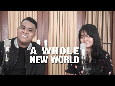 Download A Whole New World - Peabo Bryson, Regina Belle Cover by Hanin Dhiya & Andmesh Mp4 baru