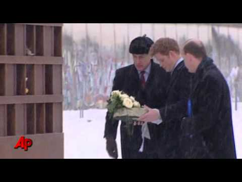 Raw Video: UK's Prince Harry in Berlin