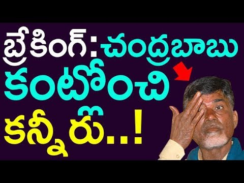 Shocking Chandrababu Naidu Cried While  Inaugurating Pylon Of Polavaram Project