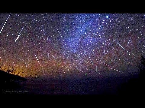 Llega la lluvia de estrellas de las GEMÍNIDAS los restos del asteroide 3200 Faetón