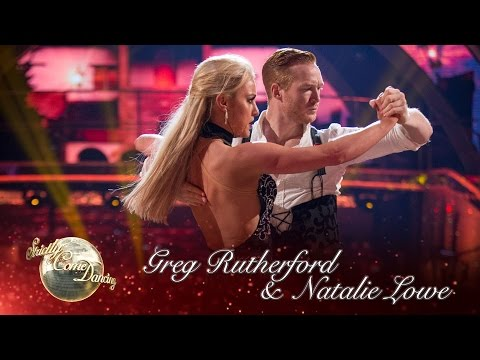 Greg Rutherford & Natalie Paso Doble to 'Tamacun' by Rodrigo y Gabriela - Strictly Come Dancing 2016