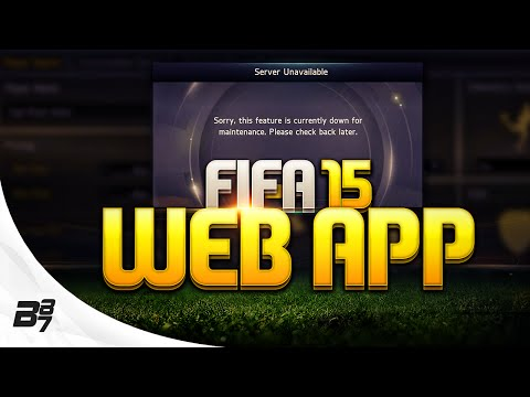 FIFA 15 | THE WEB APP! How Does It Affect You?