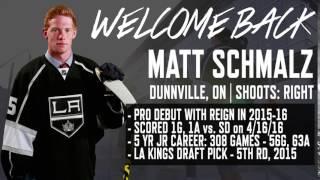 Welcome Back Matt Schmalz