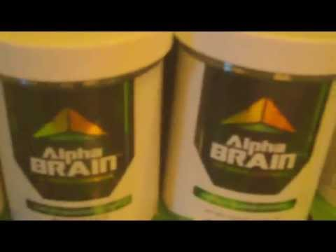 Coupons for alpha brain