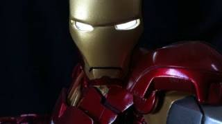 Iron Man Mark VI Maquette Statue By Sideshow Collectibles