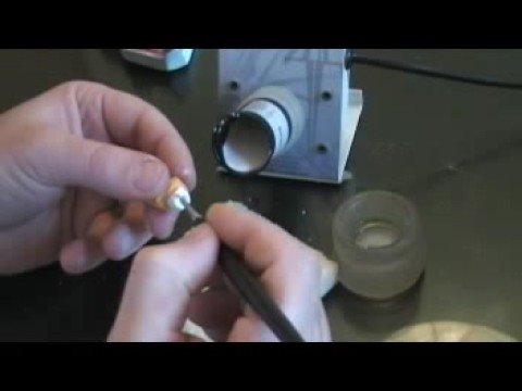 Keramos confeccion cofia de alumina