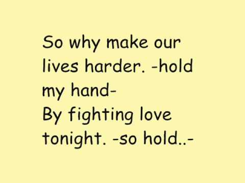 Michael Jackson ft  Akon -  Hold my hand with lyrics