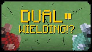 ✔ Minecraft: Dual Wielding!? (Quick News)