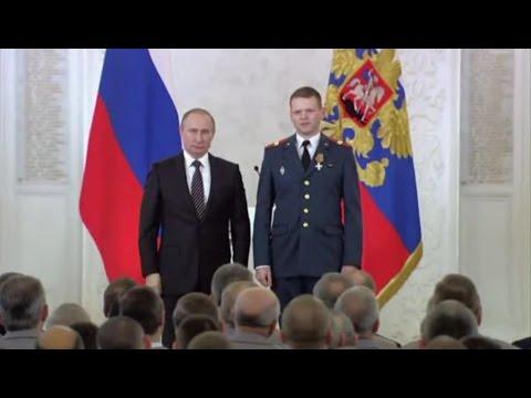 Новые Герои России Награждение в Кремле New Heroes Of Russia 17 03 2016