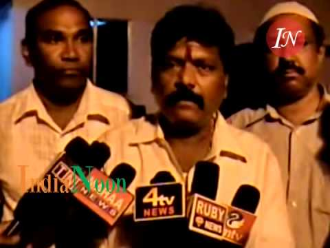 Cable TV Operators fight at Langerhouse Hyderabad India