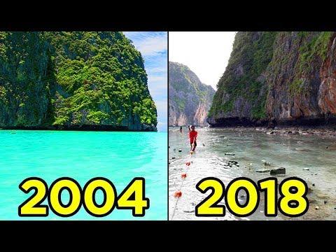 Чудеса природы которые НИКОГДА не будут прежними по вине туристов
