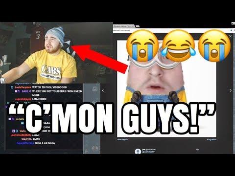 LosPollosTv Hilariously Letting Trolls Get To Him 😂 thumbnail