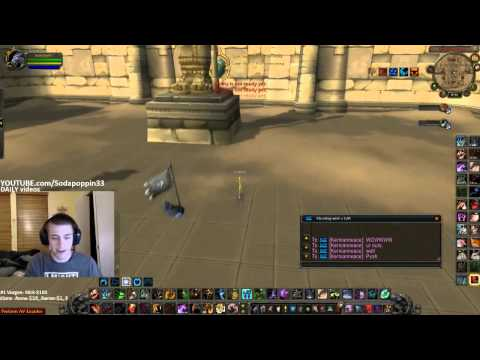 Sodapoppin banned from World of Warcraft on live stream. . . again