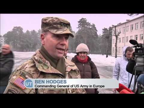 US Troops Arrive in Latvia: US army in Baltics as tensions rise over Russian Ukraine invasion